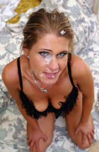 Close up blowjob cum in her mouth 056