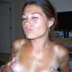 Fellation goulue avec ejac faciale amateur 117
