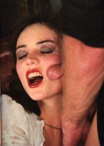 Close up blowjob cum in her mouth 046