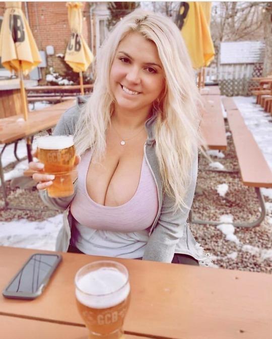 snap de salope blonde